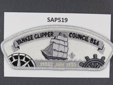 Yankee Clipper Council CSP 1999 Mass Jam Silver Mylar Border - Scout Patch HQ