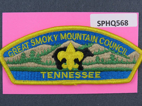 Great Smoky Mountain  Tennessee CSP Yellow Border [SPHQ568]##
