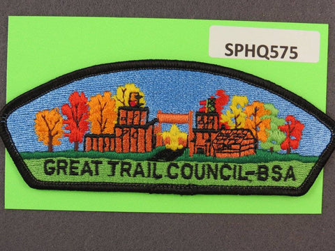 Great Trail Council Ohio CSP Black Border