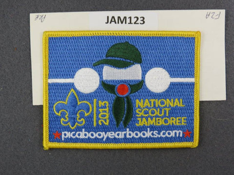 2013 National Scout Jamboree Picaboo Year Books Yellow Border