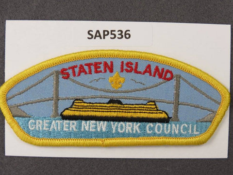 Greater New York Councils Staten Island CSP Yellwo Border