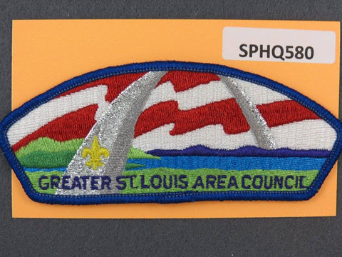 Greater St. Louis Area  CSP Blue Border [SPHQ580]##