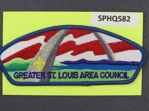 Greater St. Louis Area  CSP Blue Border [SPHQ582]##