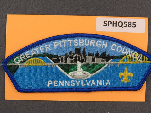 Greater Pittsburgh Council Pennsylvania CSP Blue Border