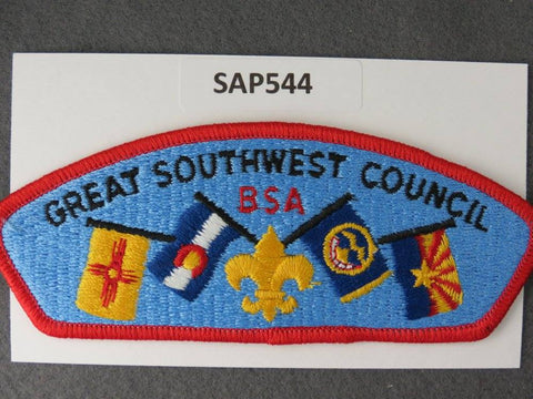 Great Southwest Council CSP Red Border