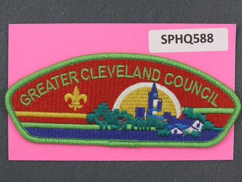 Greater Cleveland  Ohio CSP Green Border [SPHQ588]##
