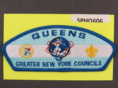 Greater New York s Queens CSP Blue Border [SPHQ606]##