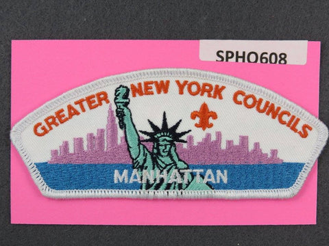 Greater New York s Manhattan CSP White Border [SPHQ608]##