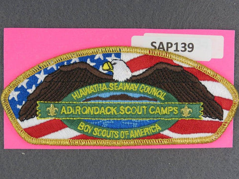 Hiawatha - Seaway Council CSP Adirondack Scout Camp GMY Border - Scout Patch HQ