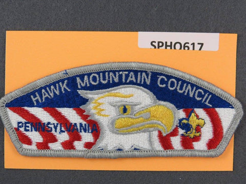 Hawk Mountain Council Pennsylvania CSP Grey Border - Scout Patch HQ