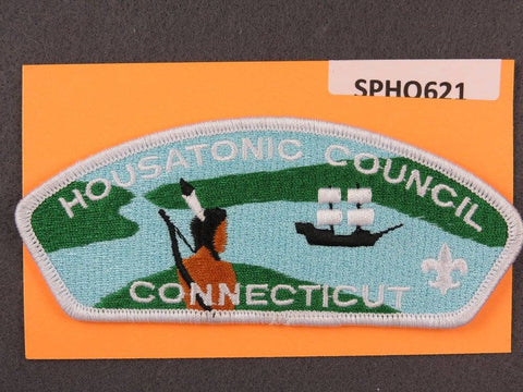 Housatonic Council Connecticut CSP White Border - Scout Patch HQ