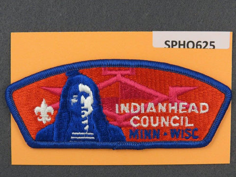 Indianhead Council Minnesota Wisconsin CSP Blue Border - Scout Patch HQ