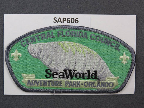 Central Florida  CSP Seaworld Adventure Park Orlando Grey Border [SAP606]>>