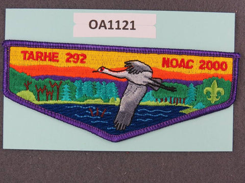 OA Lodge # 292 Tarhe Tecumseh  Purple Border  Flap [OA1121]**