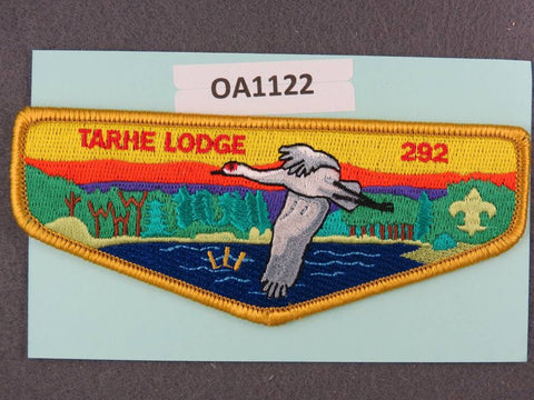 OA Lodge # 292 Tarhe Tecumseh  Tan Border  Flap [OA1122]**