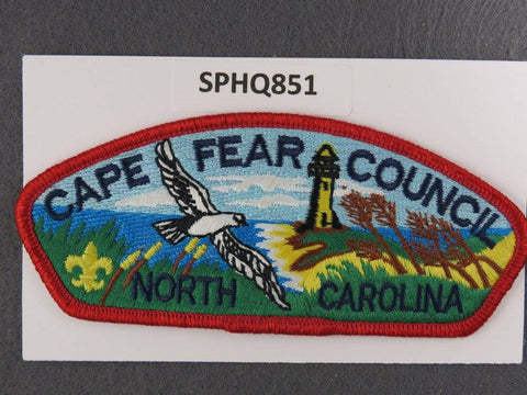 Cape Fear  North Carolina CSP Red Border [SPHQ851]##