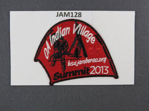 2013 National Scout Jamboree OA Indian Village Balck Border [JAM128]^^