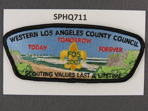Western Los Angeles County  2007 FOS CSP SAP Black Border [SPHQ711]##