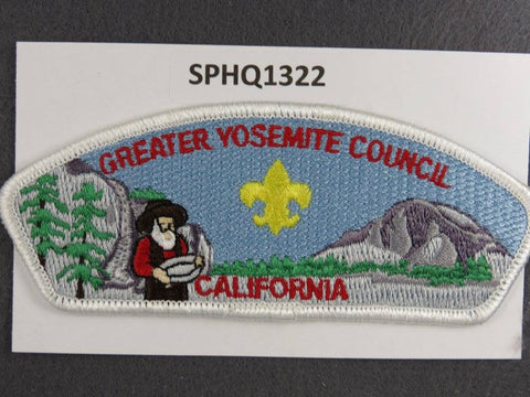 Greater Yosemite  California CSP White Border [SPHQ1322]##