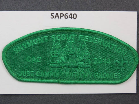 Skymont Scout Reservation CSP 2014 CAC Green Ghost Border [SAP640]>>