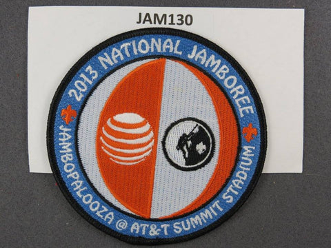 2013 National Scout Jamboree Jambopalooza at AT&T Summit Stadium Black Border [JAM130]^^