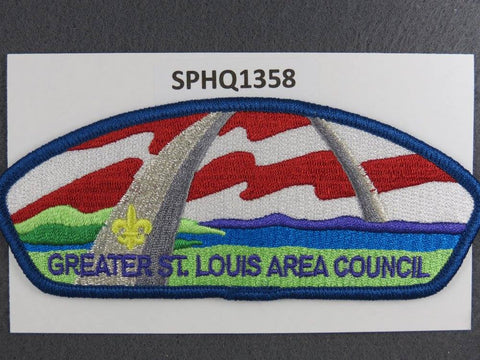 Greater St. Louis Area  CSP Blue Border [SPHQ1358]##