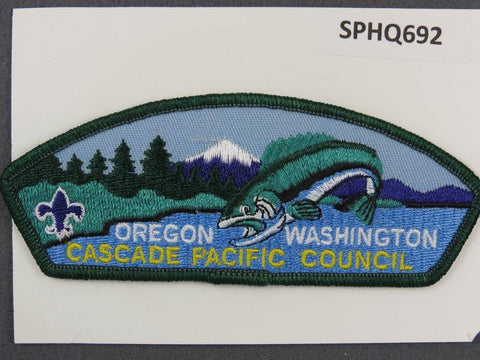 Cascade Pacific  Oregon Washington CSP Green Border [SPHQ692]##