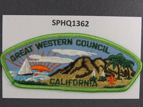 Great Western  California CSP Green Border [SPHQ1362]##