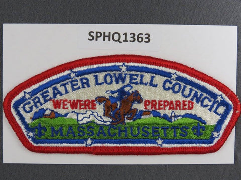 Greater Lowell  Massachusetts CSP Red Border [SPHQ1363]##