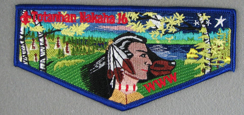 OA Lodge 16 S1 Flap Totanhan Nakaha Northern Star MN [NY1367]