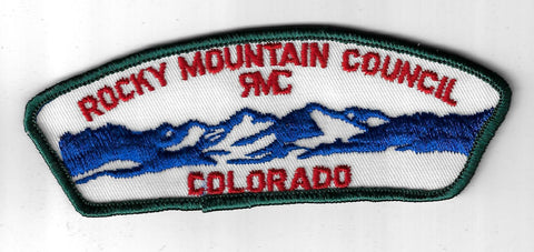 Rock Mountain Council CSP Colorado DARK GREEN Border [IND-152]