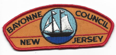 Bayonne Council CSP New Jersey RED Border [IND-0223]