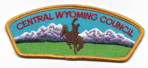 Central Wyoming Council CSP YELLOW Border [IND-0276]