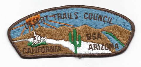 Desert Trails Council CSP BROWN Border [IND-0305]