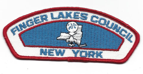 Finger Lakes Council CSP New York RED Border [IND-0330]
