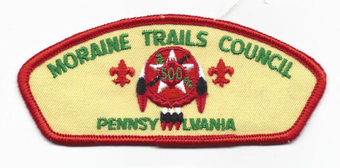 Moraine Trails Council CSP Pennsylvania BSA RED Border [IND-0467]