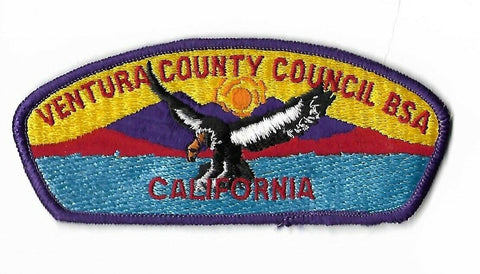 Ventura County Council BSA California CSP Patch DPR. Border[NAN-2090]