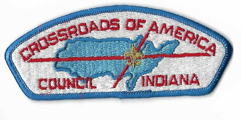 Crossroads Of America Council BSA Indiana CSP BLU Bdr. [NAN-3022]