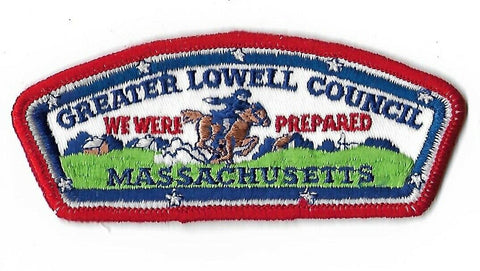 Greater Lowell Council Massachusetts CSP We Were Prepared RED Border [NAN-2395]