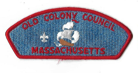 Old Colony Council BSA Massachusetts CSP RED Bdr. [NAN-3234]