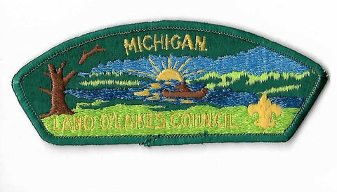 Land O' Lakes Council BSA Michigan CSP DGR Bdr. [NAN-3095]