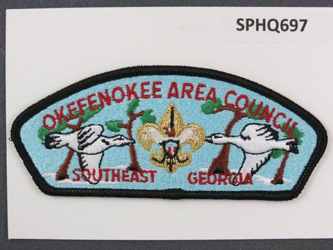 Okefenokee Area Council Southeast Georgia CSP Black Border - Scout Patch HQ