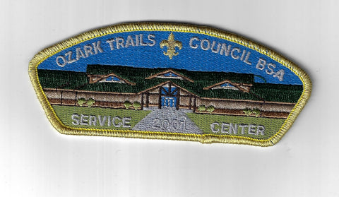 Ozark Trails Council SAP SA-22 2001 Service Center GMY Bdr. (CSI $10-15) Springf