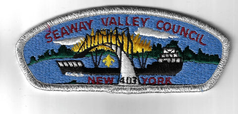 Seaway Valley Council SAP S-2 New York SMY Bdr. (CSI $10-15) Canton, NY [PAT-117