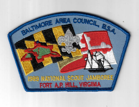 1989 National Scout Jamboree JSP Baltimore Area Council Virginia DBL Bdr. [ELL-1