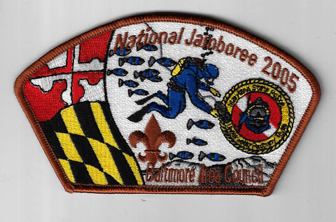 2005 National Jamboree JSP Baltimore Area Council BRN Border [ELL-514]