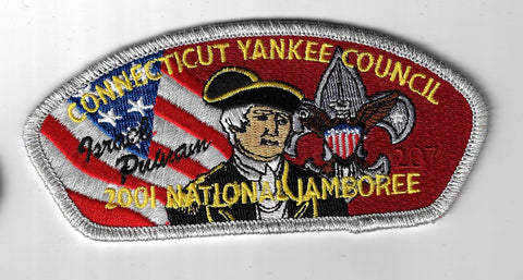2001 National Jamboree JSP Connecticut Yankee Council SMY Border [ELL-546]