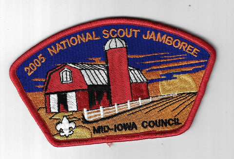 2005 National Scout Jamboree JSP Mid-Iowa Council, BSA RORG Bdr. [ELL-593]