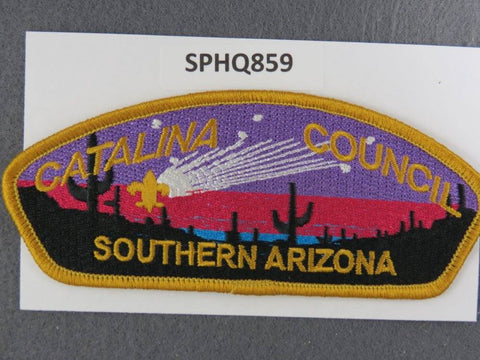 Catalina  Southern Arizona CSP Gold Border [SPHQ859]##