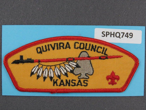 Quivira  Kansas CSP Red Border [SPHQ749]##